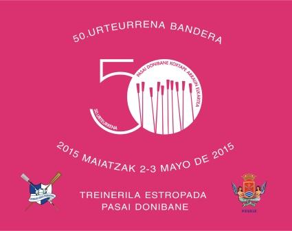 50. Urteurreneko bandera