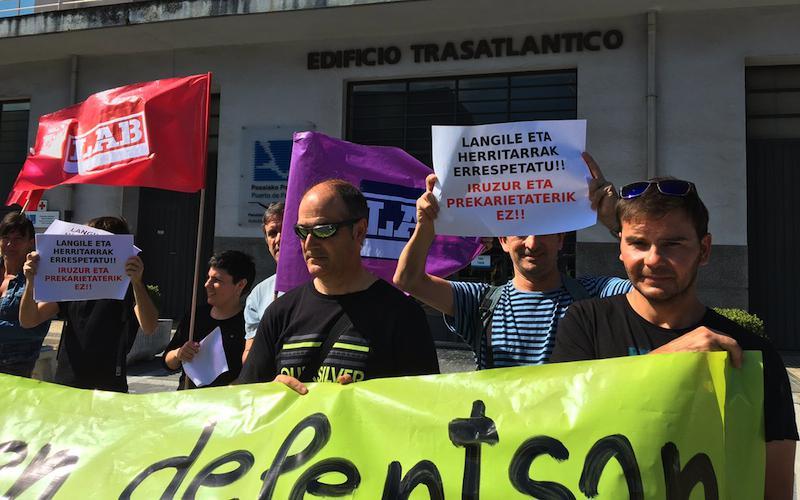 LAB sindikatua, elkarretaratzea