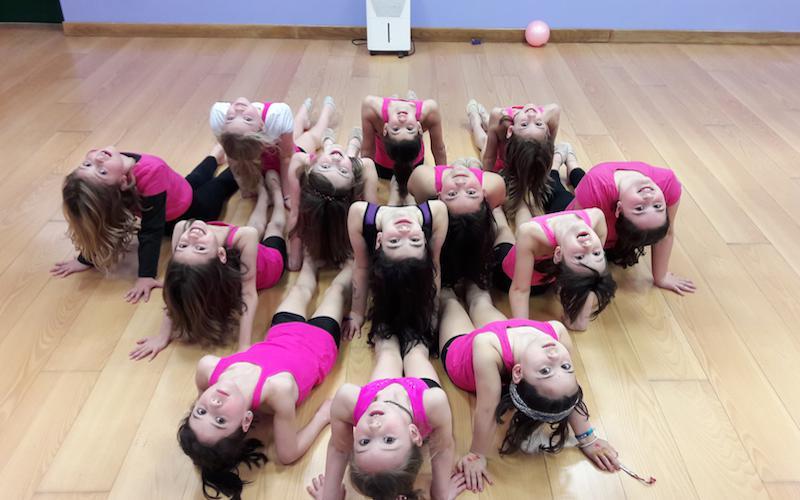 tximeleta gimnastika