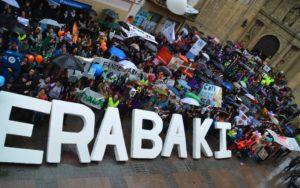 Lipduba Herriko plazan amaitu zuten. ARGAZKIA: Errenteria-Oreretako Gure Esku Dago