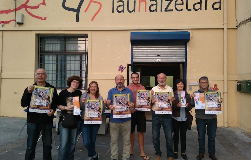 Mintzalaguna programa abiatu du Lau Haizetara Euskaltzaleon Topaguneak aurten ere.