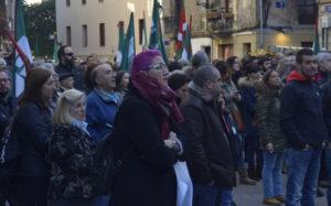 ELAko hamarnaka afiliatuk egin dute bat manifestazioarekin.