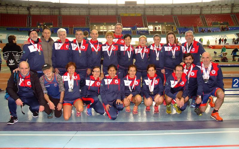 Euskadiko txapelketan izan dira EATko atletak.