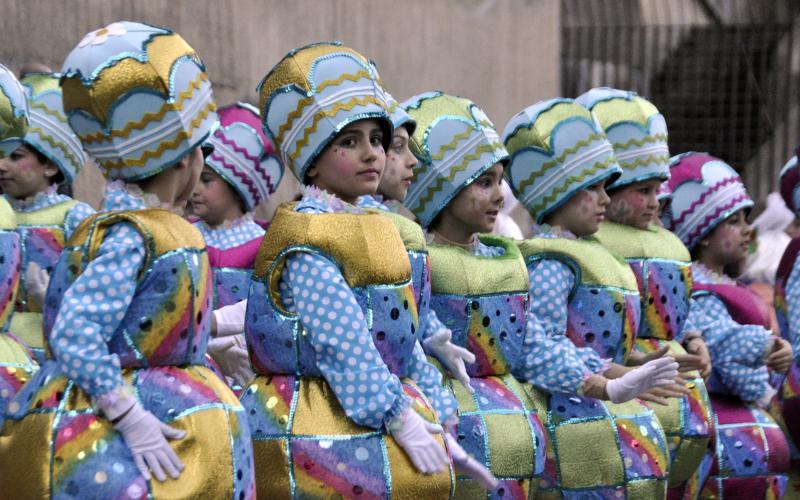 Trintxerpeko desfilea