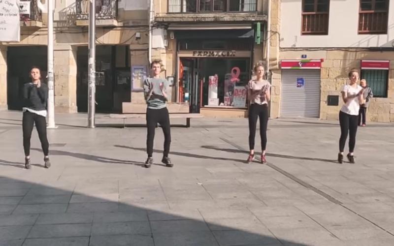 flashmob oiartzun