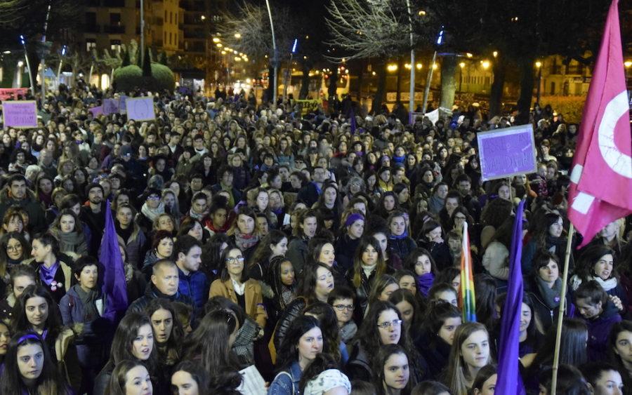 Martxoak 8 Oarsoaldeko manifestazioa