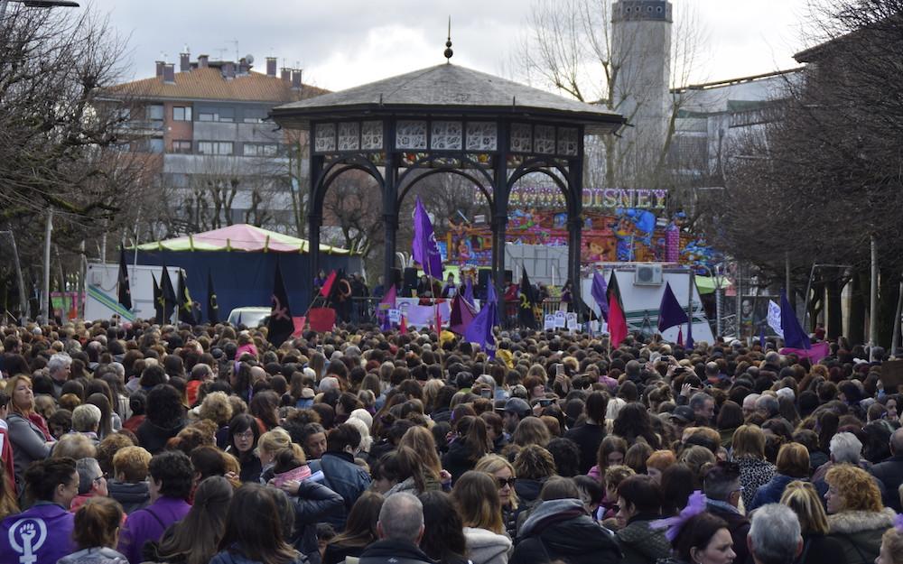 martxoak 8 orereta manifestazioa
