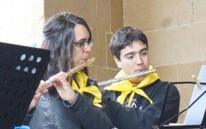 flauta taldea