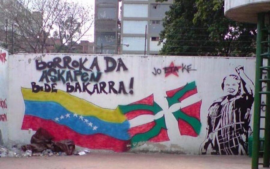 Venezuelarekin elkartasun eguna san pedro